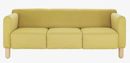 Clarke 3 seater sofa, £750, Habitat