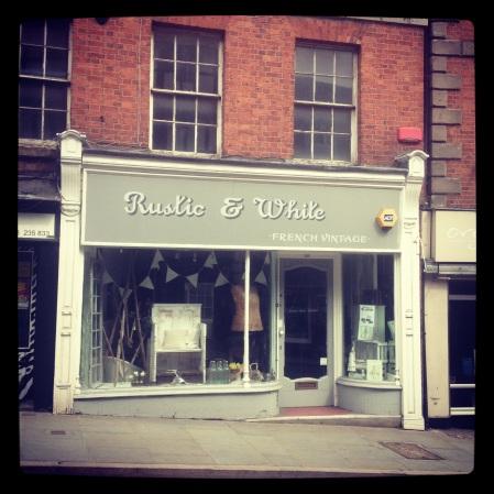 Rustic & White, Wyle Cop, Shrewsbury