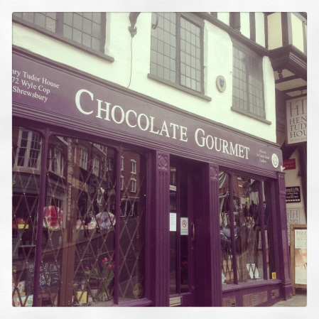 Chocolate Gourmet, Wyle Cop, Shrewsbury
