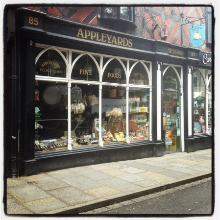Appleyards delicatessen, Shrewsbury