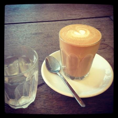 Latte at Damson