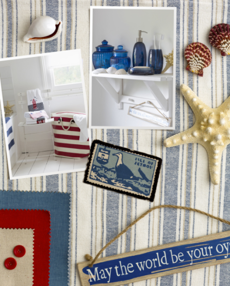 Trend mood board: Nautical