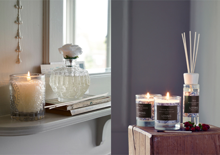 Home fragrance by Shabby Chic and Living by Christiane Lemieux. Photography by Jake Curtis. Styling by Abigail Edwards.